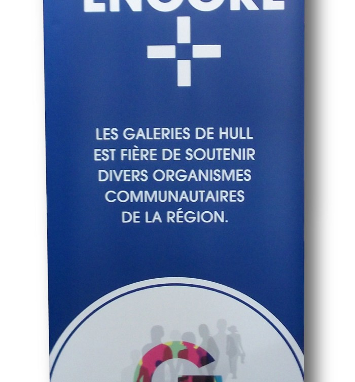Galeries de Hull-Organismes communautaires-rollup